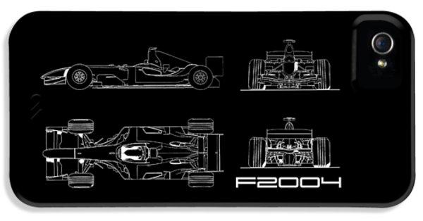 The F2004 Gp Blueprint IPhone 5 Case