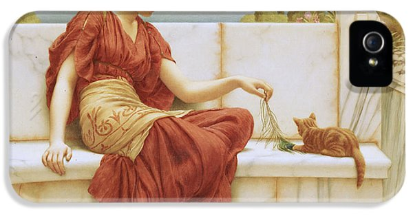 The Favorite IPhone 5 Case by John William Godward