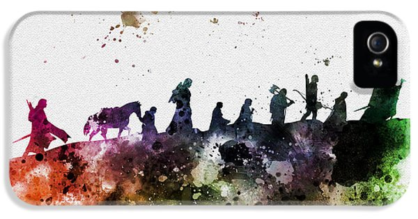 The Fellowship IPhone 5 Case by Rebecca Jenkins