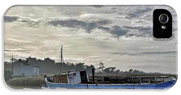 Beautiful iPhone 5 Case - The Fixer-upper, Brancaster Staithe by John Edwards