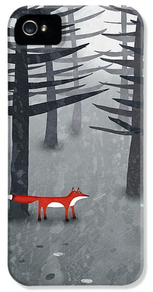 The Fox And The Forest IPhone 5 Case