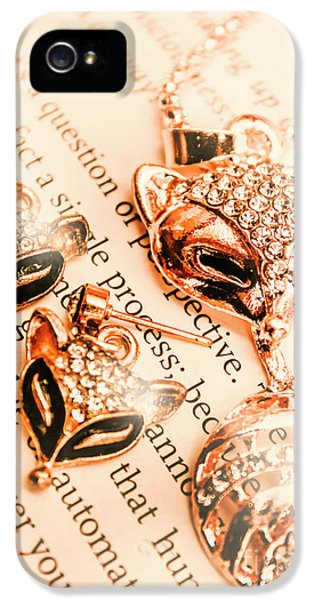 The Fox Tale IPhone 5 Case by Jorgo Photography - Wall Art Gallery