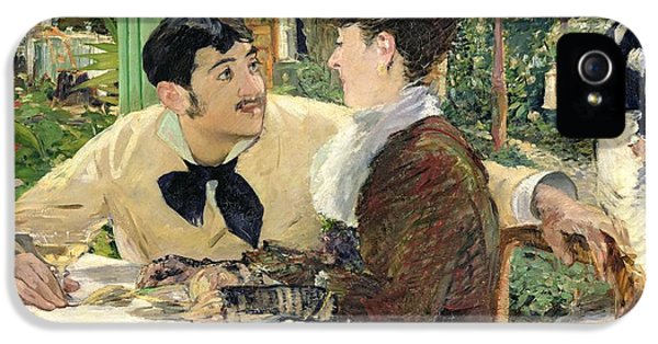 The Garden Of Pere Lathuille IPhone 5 Case by Edouard Manet