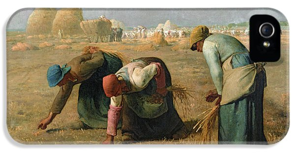The Gleaners IPhone 5 Case by Jean Francois Millet
