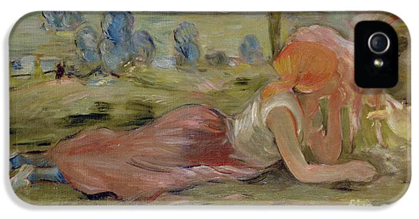 The Goatherd IPhone 5 / 5s Case by Berthe Morisot