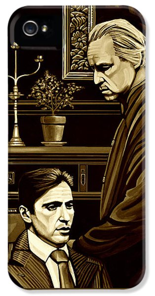 The Godfather IPhone 5 Case by Meijering Manupix