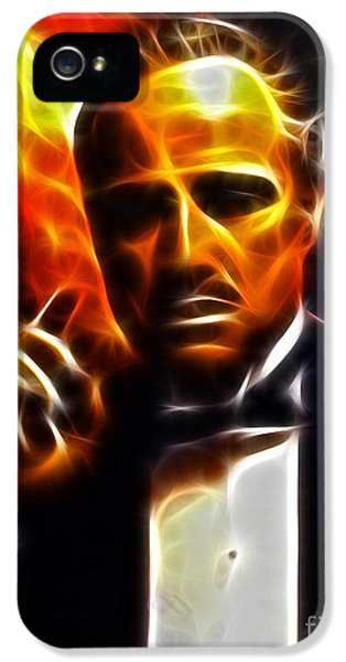 The Godfather IPhone 5 Case by Pamela Johnson