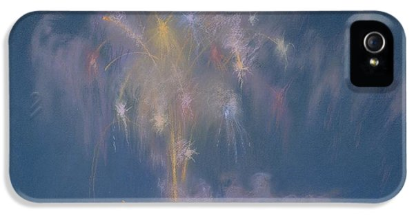 Fire Works iPhone 5 Cases - The Grand Finale iPhone 5 Case by Lendall Pitts