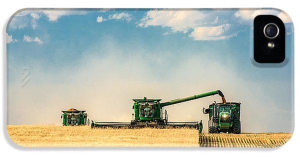Rural Scenes iPhone 5 Case - The Green Machines by Todd Klassy