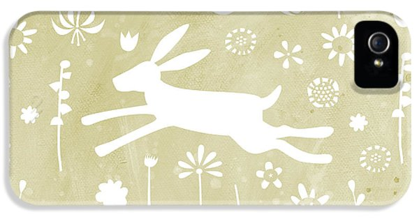 The Hare In The Meadow IPhone 5 Case by Nic Squirrell