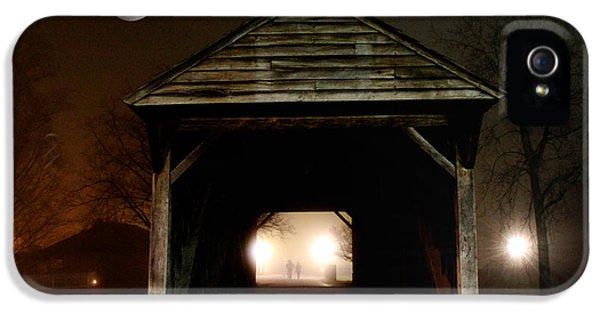The Haunted Bridge IPhone 5 Case by Michael Rucker