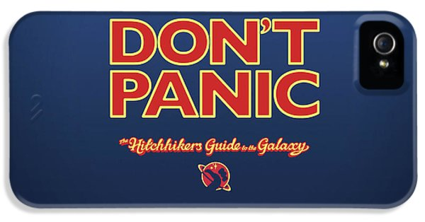 Design iPhone 5 Case - The Hitchhiker's Guide To The Galaxy by Super Lovely
