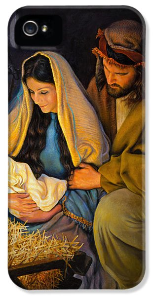 The Holy Family IPhone 5 Case by Greg Olsen