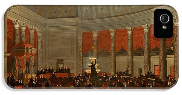 The House Of Representatives IPhone 5 Case by Samuel Finley Breese Morse
