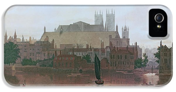 The Houses Of Parliament IPhone 5 Case by George Fennel Robson