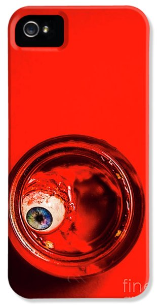 Eyeball iPhone 5 Case - The Human Experiment by Jorgo Photography - Wall Art Gallery