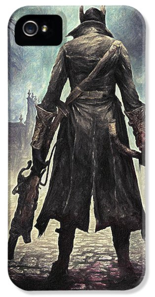 The Hunter - Bloodborne IPhone 5 Case