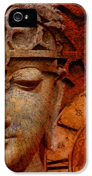 The Illusion Of Time IPhone 5 Case by Christopher Beikmann