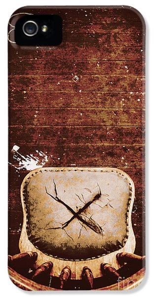 Damage iPhone 5 Case - The Interrogation Room by Jorgo Photography - Wall Art Gallery