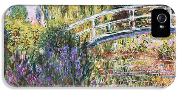 Lily iPhone 5 Case - The Japanese Bridge by Claude Monet