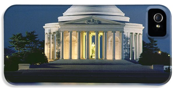 The Jefferson Memorial IPhone 5 Case by Peter Newark American Pictures