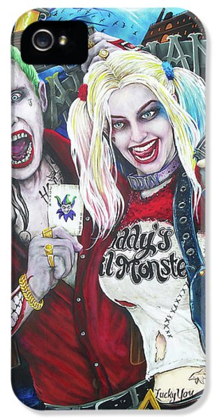 The Joker And Harley Quinn IPhone 5 Case