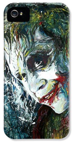 The Joker - Heath Ledger IPhone 5 Case