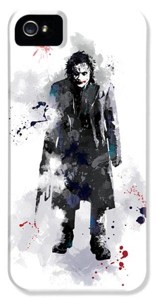 The Joker IPhone 5 Case by Marlene Watson