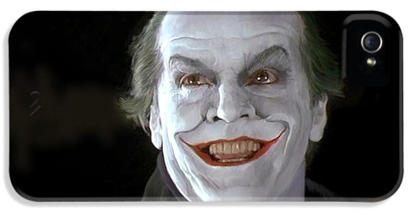 The Joker IPhone 5 / 5s Case by Paul Tagliamonte