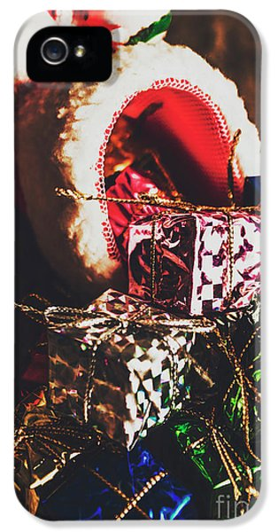 The Joy Of Giving On Christmas IPhone 5 Case by Jorgo Photography - Wall Art Gallery