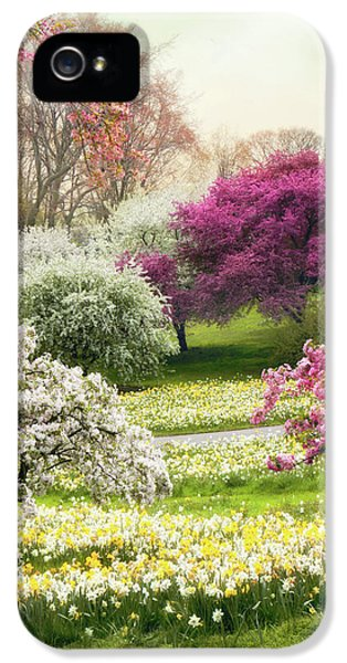 IPhone 5 Case featuring the photograph The Joy Of Spring by Jessica Jenney