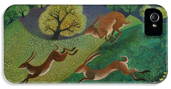 The Joy Of Spring IPhone 5 Case by Lisa Graa Jensen
