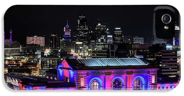 IPhone 5 Case featuring the photograph The Kansas City Skyline by JC Findley