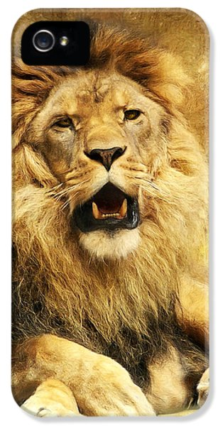 The King IPhone 5 Case by Angela Doelling AD DESIGN Photo and PhotoArt