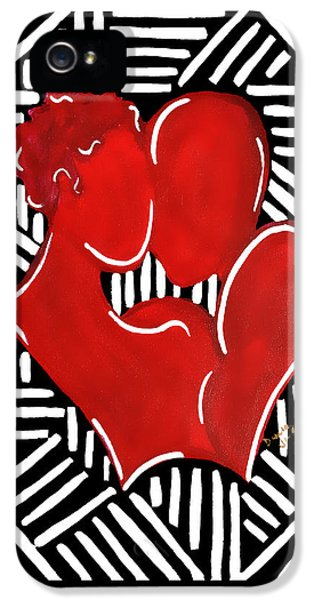 The Kiss IPhone 5 Case by Diamin Nicole