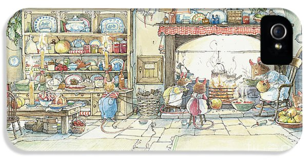 The Kitchen At Crabapple Cottage IPhone 5 Case
