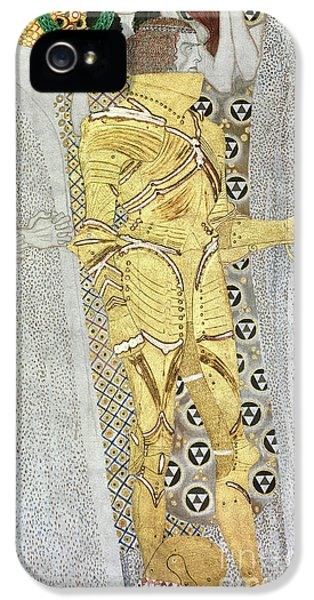 The Knight IPhone 5 Case by Gustav Klimt