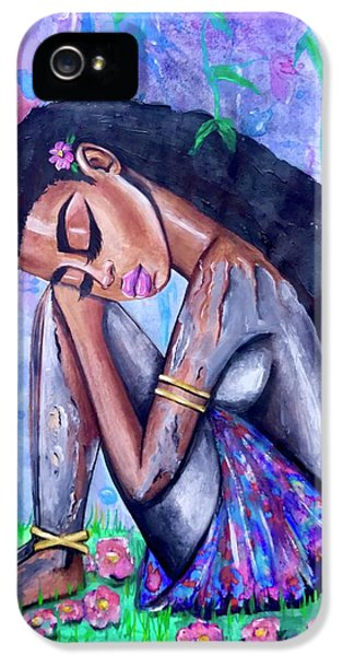 iPhone 5 Case - The Last Eve In Eden by Artist RiA