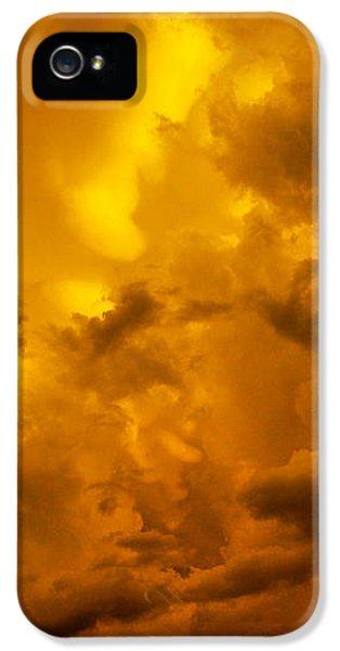 Nebraskasc iPhone 5 Case - The Last Glow Of The Day 008 by NebraskaSC