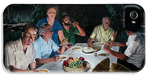 The Last Supper IPhone 5 Case by Dave Martsolf