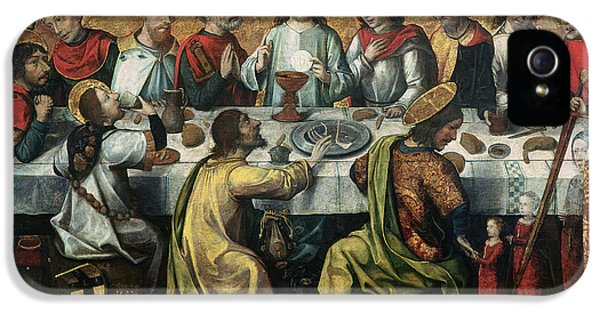 John The Baptist iPhone 5 Cases - The Last Supper iPhone 5 Case by Godefroy