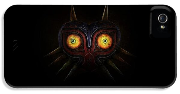 Design iPhone 5 Case - The Legend Of Zelda Majora's Mask by Maye Loeser