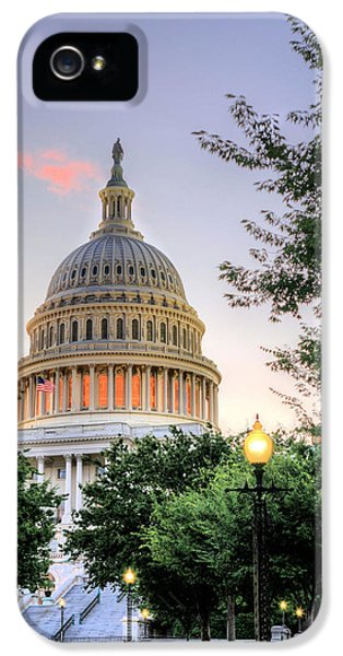House Of Representatives iPhone 5 Cases - The Legislative Branch iPhone 5 Case by JC Findley