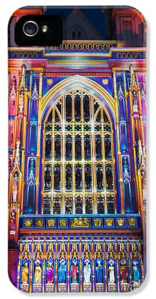 The Light Of The Spirit Westminster Abbey London IPhone 5 Case by Tim Gainey