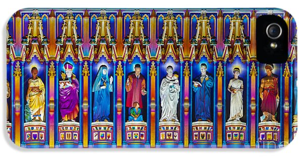 The Light Of The Spirit Westminster Abbey IPhone 5 Case by Tim Gainey