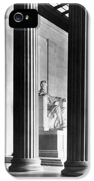 The Lincoln Memorial IPhone 5 Case by War Is Hell Store