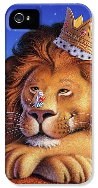 Mice iPhone 5 Case - The Lion King by Jerry LoFaro