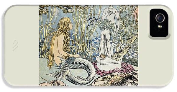 The Little Mermaid IPhone 5 Case by Ivan Jakovlevich Bilibin