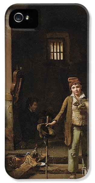 The Little Savoyards' Bedroom Or The Little Groundhog Shower IPhone 5 Case