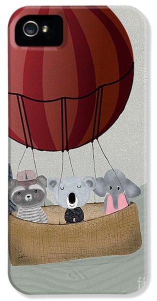 Koala iPhone 5 Case - The Littlest Adventure by Bleu Bri